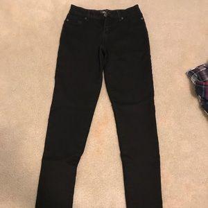 Black express jeans. Size 2
